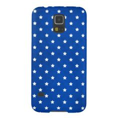 Stars On Fabric Texture Galaxy S5 Cases