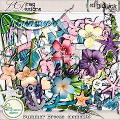 Summer Breeze: Elements by LDrag Designs
