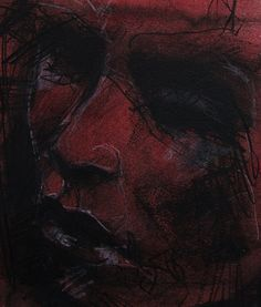 Guy Denning (b. 1965, Bristol, UK) - Within Man's Grasp, 2009    Drawings: Conte, Pastels, Oil Wash on Paper