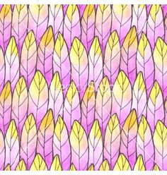 Seamless background feather pattern vector by Jallom on VectorStock®