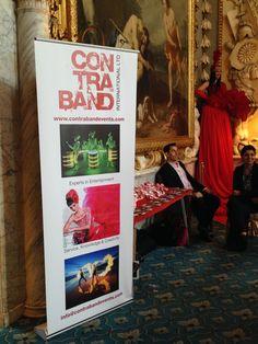 Contraband exhibits at Asian Wedding Exhibition Moor Park Golf Club