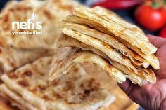 Katmer (Akşam Yoğur Sabah Pişir) – Nefis Yemek Tarifleri Pizza, Bread, Ethnic Recipes, Food, Snakes, Yogurt, Cooking Recipes, Brot, Essen