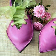 Handmade fairy shoes