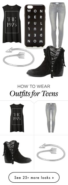 """Untitled #596"" by jaimie-lynn-1 on Polyvore featuring Paige Denim, Qupid, women's clothing, women, female, woman, misses and juniors"