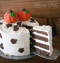 Tartas sin Gluten .....365 dias sin gluten: Layer Cake Brownie y Vainilla