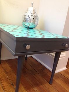 How to paint and stencil furniture