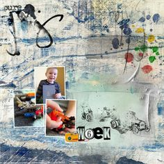 Week 06/02 Kids Playing, Digital Scrapbooking, Palette, Artsy, Pure Products, Link, Painting, Design, Painting Art