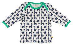 Loud + Proud Unisex - Baby Sweatshirt 247, Animalprint, Gr. 104 (Herstellergröße: 98/104), Blau (Ultramarin Ul)