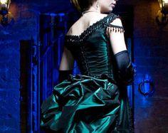 Victorien Steampunk gothique agitation robe avec par AliceCorsets