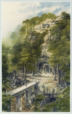 The Lord of the Rings. Иллюстратор Alan Lee