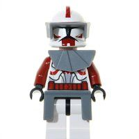 LEGO Star Wars Minifigur - Clone Commander Fox (2008)
