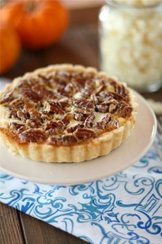 White Chocolate Cheesecake Pecan Pie Tarts by @Lauren Brennan