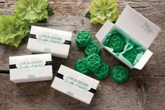 Love Blossom Candy Favors (or soaps!)