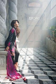 Zainab Chottani Pret Eid Collection 2015 - Pakistani fashion dresses - Fashion in Pakistan | Maram Fashions