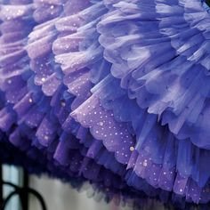 "I saw this pin of a purple Tutu and thought ""Wow! Tutus make amazing tree skirts! Super easy and inexpensive to make, and fancy-shmancy too!"