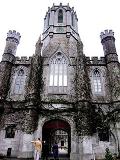 National University of Ireland | The Medieval City of Galway http://www.augustuscollection.com/medieval-city-galway/