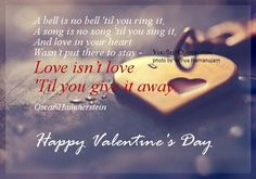 Valentines day love quotes and sayings