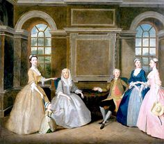 The Athenaeum - The Broke and the Bowes Families (Thomas Bardwell - ) c. 1740