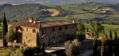 The Tuscan sun shines on our hillside, winery home.