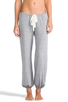 eberjey Heather Pant in Heather Gray from REVOLVEclothing
