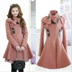 New spring autumn winter women wool coat waist by todayandmade, $69.99