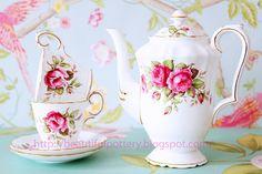 Fine  rose china