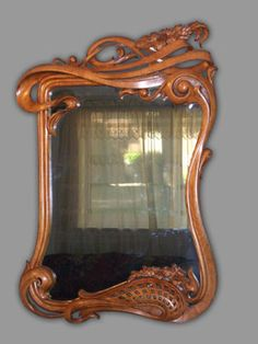 Original Art Nouveau Mirror | JV