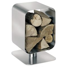 modern fireplace accessory / The Home Style Directory