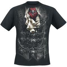 T-shirt, Waisted, Spiral - Sweden Rock Shop, 199 SEK (print back too, minimum size = M)