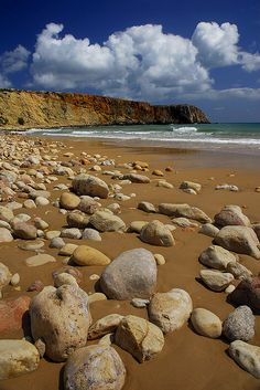 Praia da Figueira. Aljezur. Algarve, Portugal