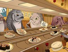 Você comeria comidas estranhas?