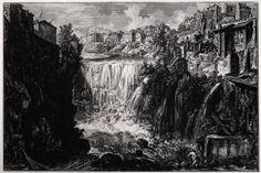 Piranesi, H75, Veduta della Cascata di Tivoli (Low Res)