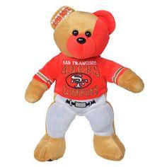 San Francisco 49ers Super Bowl XXIX Champions Thematic Bear