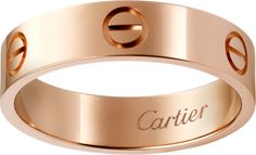 Love ringPink gold - right hand ring - Cartier