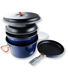 Bugaboo Base Camper Cook Set, Large: Cookware   Free Shipping at L.L.Bean
