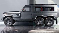 6x6 Land Rover Defender, by Kahn Design.