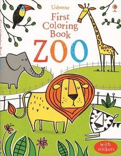 Usborne Zoo Coloring Book