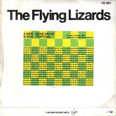 The Flying Lizards Move On Up