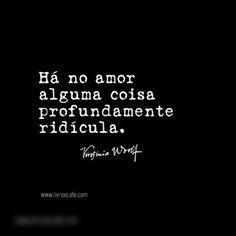 Há, o amor...