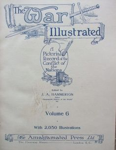 THE WAR ILLUSTRATED Volume Six Title Page