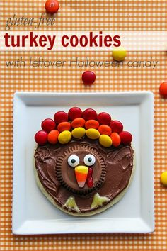 The Centsible Life: Gluten-Free Turkey Cookies