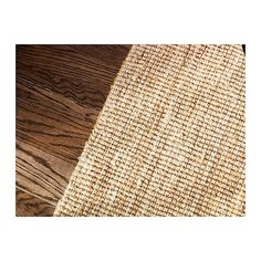 Ikea Sisal Teppich kattrup rug handwoven by skilled craftspeople and therefore unique