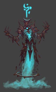 god by Zhang Linglong on ArtStation. Fantasy Character Design, Character Design Inspiration, Character Concept, Character Art, Monster Concept Art, Fantasy Monster, Monster Art, Creature Concept Art, Creature Design