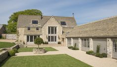 Strutt & Parker - London Head Office present this 5 bedroom detached house in Middle Lypiatt, Stroud, Gloucestershire Barn Conversion Exterior, Barn House Conversion, Barn Conversions, Up House, House Front, Cotswold House, Self Build Houses, Modern Barn House, Barn Renovation