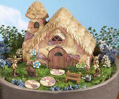 Miniature FAIRY GARDEN ~ Cozy Cottage Stepping Stones 2 Fairies & More 9 Pc Set #Winston