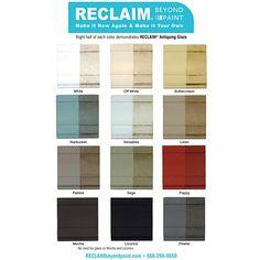 Reclaim Paint Kitchen Cabinets