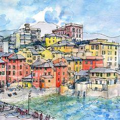 Genova Boccadasse (Liguria-Italy)