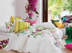 Quite a few of us are obsessed with Kas bedding!Chintz Quilt Set - contemporary - quilts - other metro - by KAS Australia Quilt Set, Quilt Cover Sets, Luxury Bedroom Furniture, Furniture Decor, Bedroom Interiors, Home Interior, Interior Design, Bed Linen Australia, Summer Bedroom