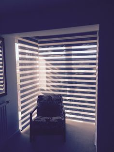 Combination shades are a great alternative to Venetian blinds. Privacy, light control, and light weight to operate