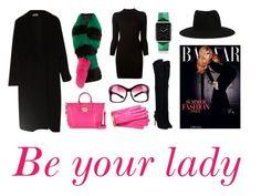 """Be you lady !"" by jackob-j-kubik on Polyvore featuring Calvin Klein, Charlotte Simone, Aquazzura, Versace, Maison Margiela, Prada, Boutique Moschino, Casetify and Maison Michel"